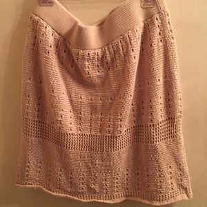 Loft Skirt Sweater Material Perfect 4 Fall Small